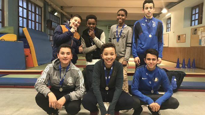 Médaille d'argent pour l'équipe de Futsal du collège !